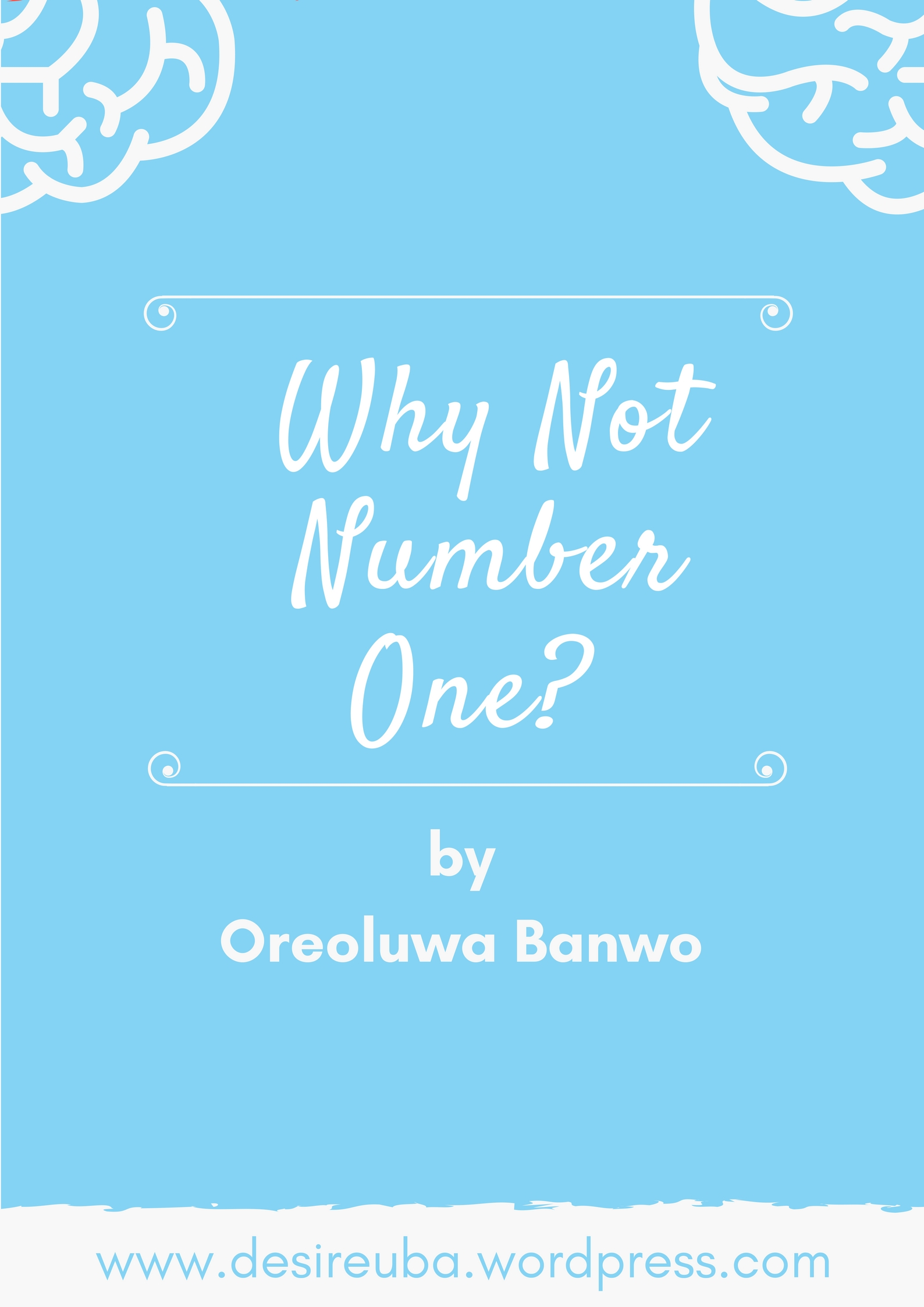 GUEST POST: WHY NOT NUMBER ONE??