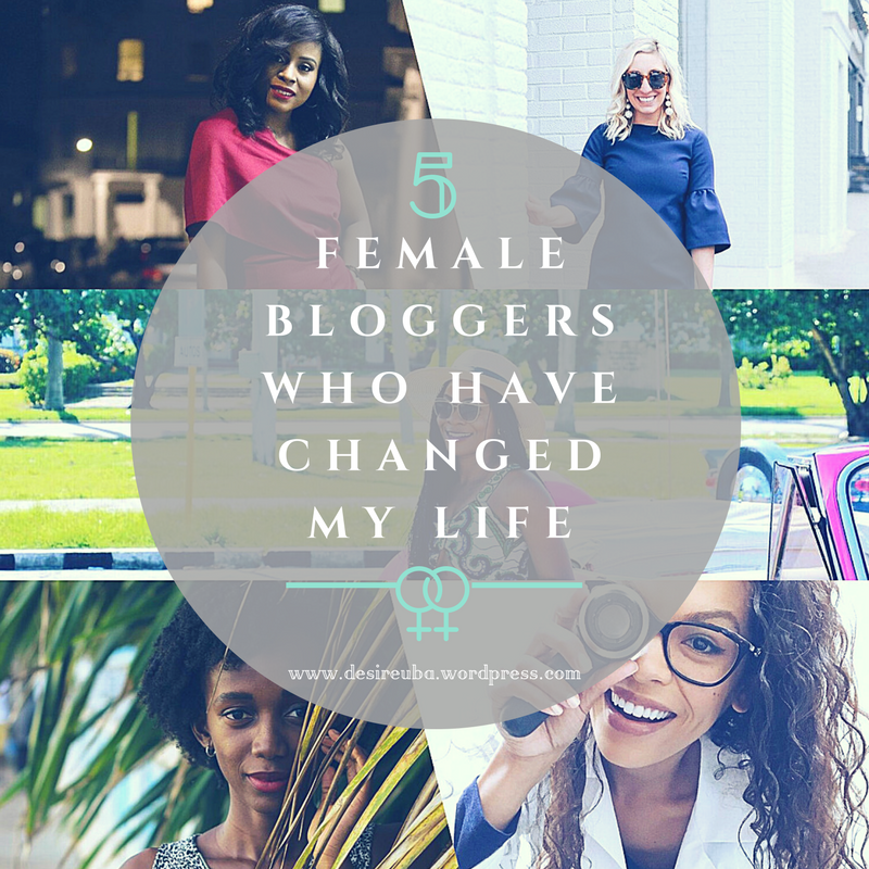 IWD 2018|| FIVE FEMALE BLOGGERS WHO HAVE CHANGED MY LIFE