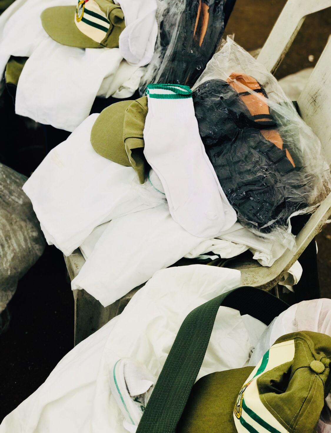 NYSC uniform in full