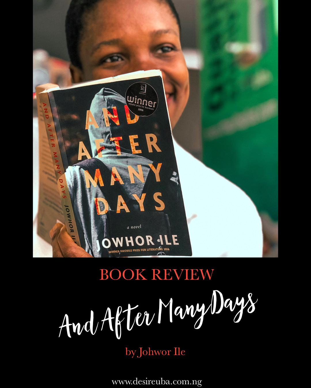 BOOK REVIEW || AND AFTER MANY DAYS BY JOHWOR ILE