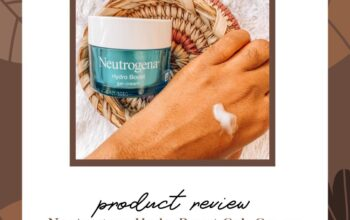 Product review of Neutrogena HydroBoost Gel-Cream